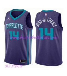 Charlotte Hornets NBA Trikot Kinder 2018-19 Michael Kidd-Gilchrist 14# Statement Edition Basketball ..