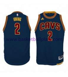 Cleveland Cavaliers Trikot Kinder 15-16 Kyrie Irving 2# Navy Alternate Basketball Trikot Swingman..