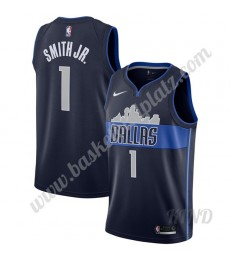 Dallas Mavericks Trikot Kinder 2019-20 Dennis Smith Jr 1# Marine Statement Edition NBA Trikots Swing..