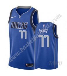 Dallas Mavericks Trikot Kinder 2019-20 Luka Doncic 77# Blau Icon Edition NBA Trikots Swingman..