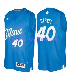 Günstige NBA Weihnachten Basketball Trikots Dallas Mavericks Herren 2016 Harrison Barnes 40# Swingma..