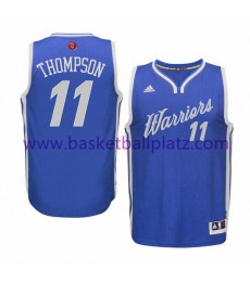 Golden State Warriors Trikot Herren 2015 Klay Thompson 11# NBA Weihnachten Basketball Trikot Swingma..