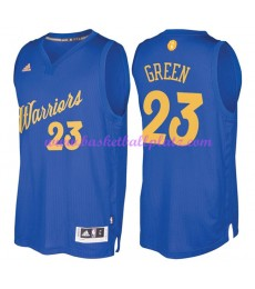 Günstige NBA Weihnachten Basketball Trikots Golden State Warriors Herren 2016 Draymond Green 23# Swi..