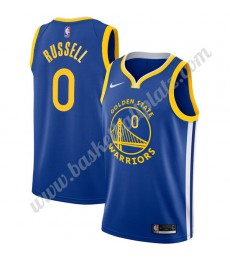 Golden State Warriors Trikot Herren 2019-20 D'Angelo Russell 0# Blau Icon Edition Basketball Trikots..