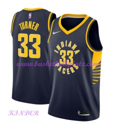 Indiana Pacers NBA Trikot Kinder 2018-19 Myles Turner 33# Icon Edition Basketball Trikots Swingman..