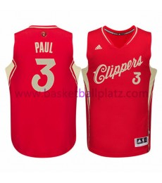 Los Angeles Clippers Trikot Herren 2015 Chris Paul 3# NBA Weihnachten Basketball Trikot Swingman..