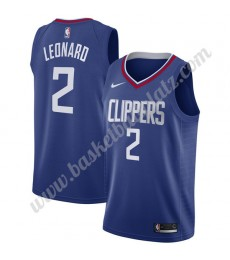 Los Angeles Clippers Trikot Herren 2019-20 Kawhi Leonard 2# Blau Icon Edition Basketball Trikots NBA..