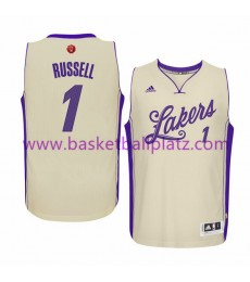 Los Angeles Lakers Trikot Herren 2015 D'Angelo Russell 1# NBA Weihnachten Basketball Trikot Swingman..