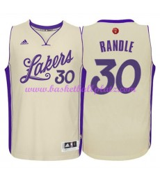 Günstige NBA Weihnachten Basketball Trikots Los Angeles Lakers Herren 2015 Julius Randle 30# Swingma..