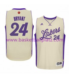 Los Angeles Lakers Trikot Herren 2015 Kobe Bryant 24# NBA Weihnachten Basketball Trikot Swingman..