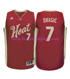 Günstige NBA Weihnachten Basketball Trikots Miami Heat Herren 2015 Goran Dragic 7# Swingman..