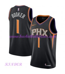 Phoenix Suns NBA Trikot Kinder 2018-19 Devin Booker 1# Statement Edition Basketball Trikots Swingman..