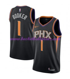 Phoenix Suns Trikot Herren 2018-19 Devin Booker 1# Statement Edition Basketball Trikots NBA Swingman..