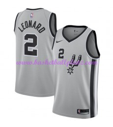 San Antonio Spurs Trikot Herren 2018-19 Kawhi Leonard 2# Statement Edition Basketball Trikots NBA Sw..